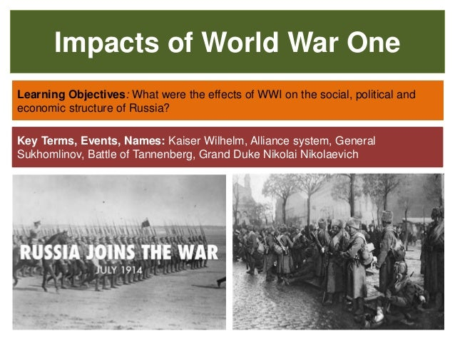 economic impact ww1 The seeds of world war ii were sown in the treaties that ended world war i as a result, dictatorships arose in germany and italy benito mussolini led the fascists.