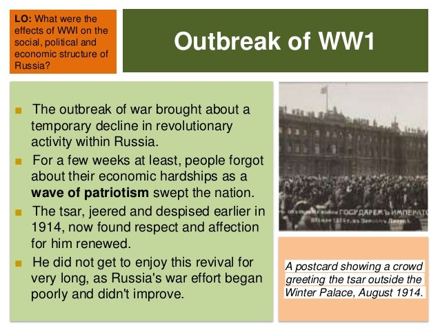 The Impacts of WW1