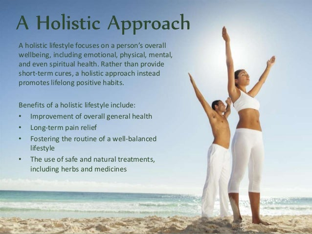 the importance of a holistic lifestyle