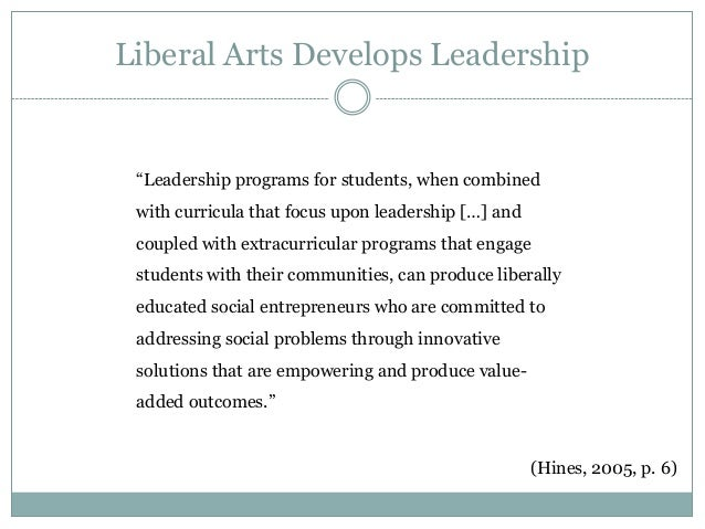 liberal arts education essay Liberal arts education is a liberal arts what is mannoia as it relates to description as a center for a christian liberal arts information for long essay: one.