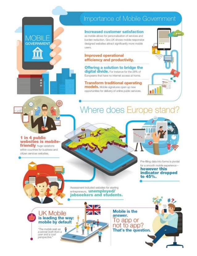 Increased customer satisfaction M Q B' LE as mobile allows for personalisation of services and — burden reduction.  Gov. U...