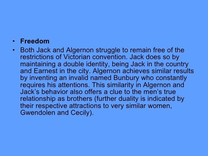 jack and algernon relationship