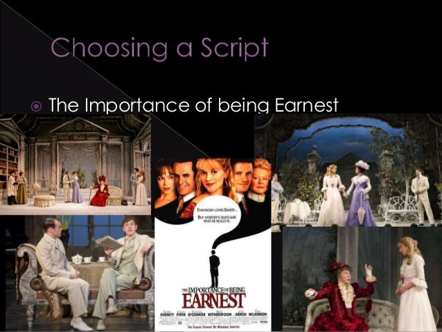 comedic element in the importance of being earnest essay In the most basic sense, the importance of being earnest is a drama because  it's a play it's also a comedy—not only in the modern laugh-out-loud way, but.