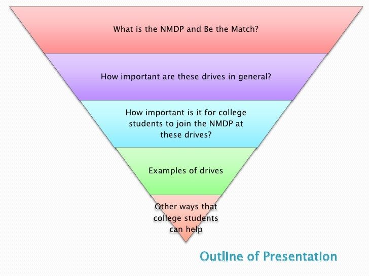The Importance of College Students Joining the NMDP