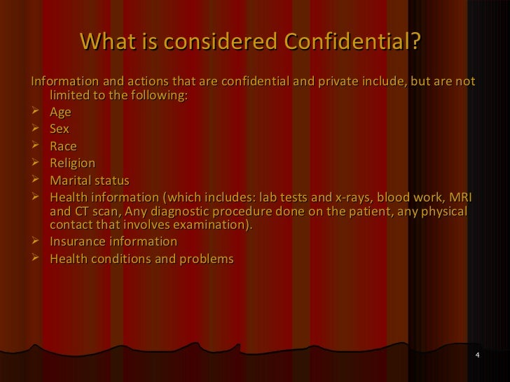 the importance of confidentiality data Confidendiality vs privacy one important requirement is appropriate, adequate provisions to protect the privacy of subjects and to maintain the confidentiality of data what's the difference between privacy and confidentiality.