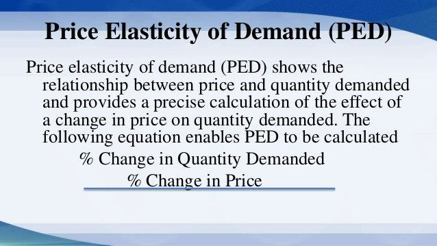 importance of elasticity of supply