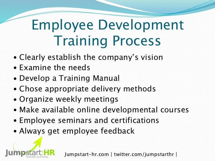 why training and development is important in an organization