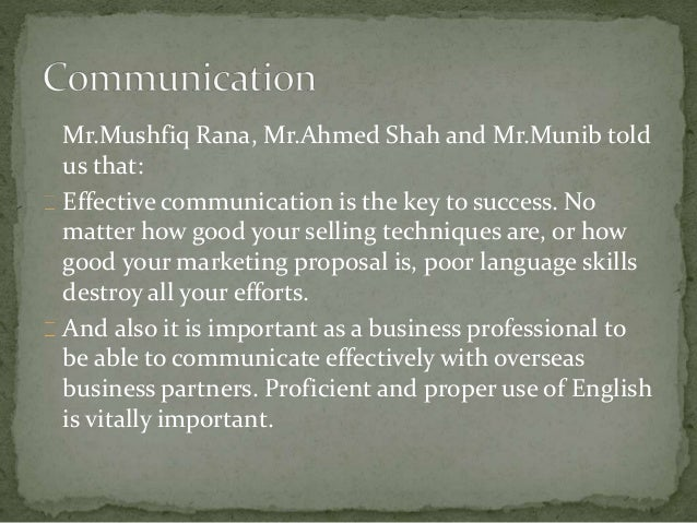 importance of english communication proficiency Communication is very important not only for smooth running of a business enterprise but it is the importance of english in the workplace english proficiency.