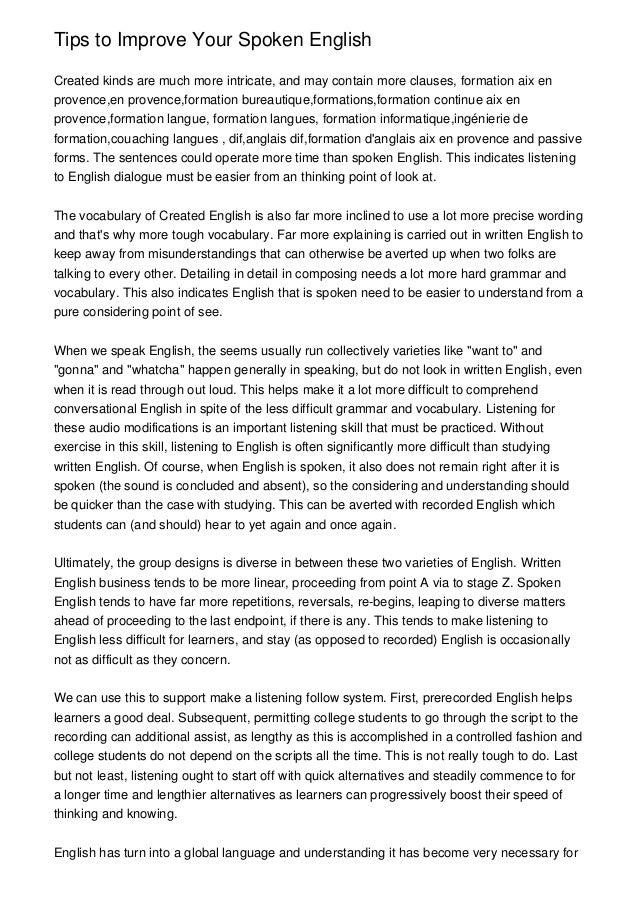 role of english daily to improve The best of reallife english  lifestyle english: 5 ways to make english a part of your daily life how to improve your english vocabulary.