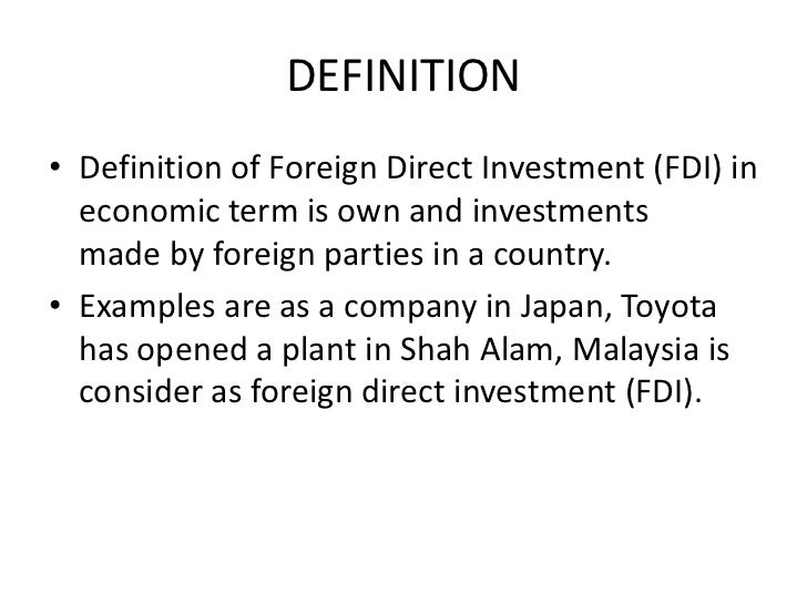 Cemexs foreign direct investment