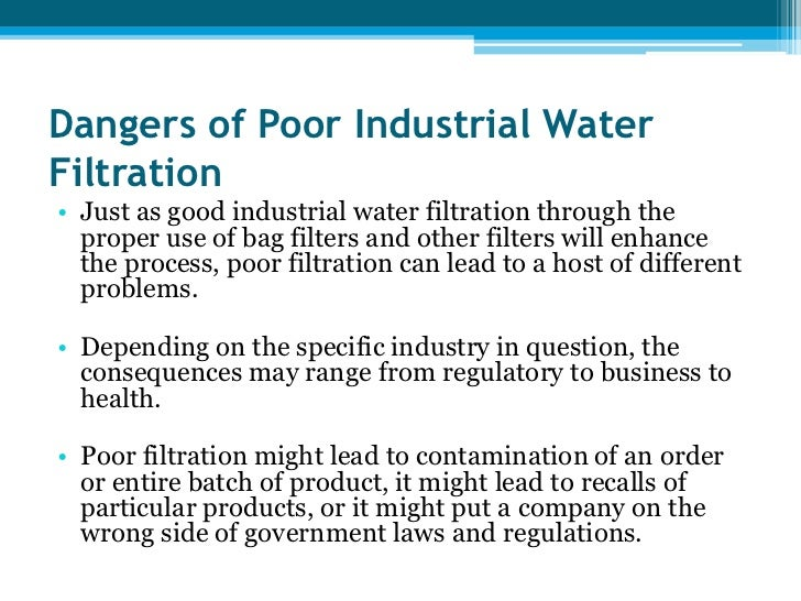 importance of water in industries Tvet and the water and wastewater industry challenges we aim to communicate the importance of developing appropriate and relevant skills for the water and.