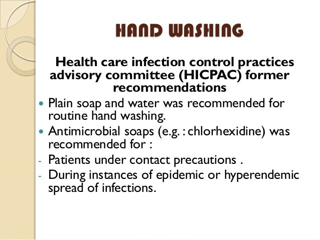 The importance of infection control in hospitals