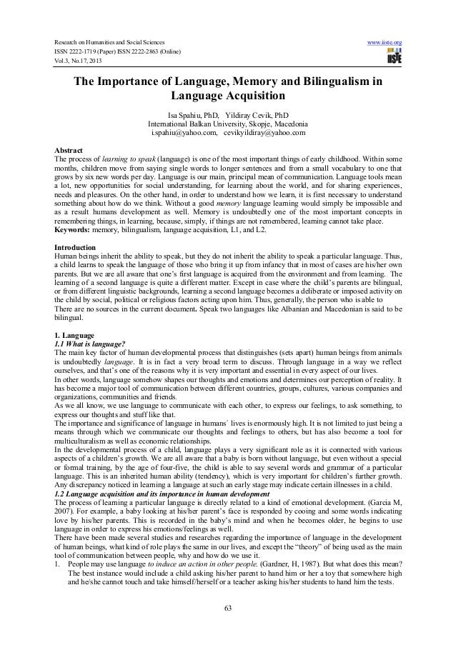 Research on Humanities and Social Sciences ISSN 2222-1719 (Paper) ISSN 2222-2863 (Online) Vol.3, No.17, 2013  www.iiste.or...