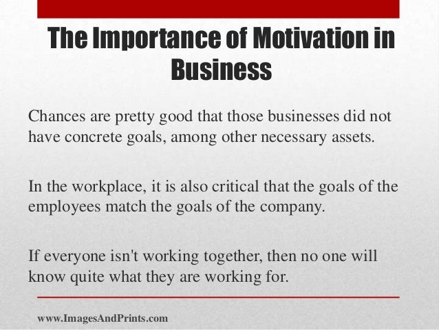 what is motivation importance of motivation Knowing what types of employees you have in your ranks is important to understanding motivation, as well when it comes to engagement, gallup says there are.