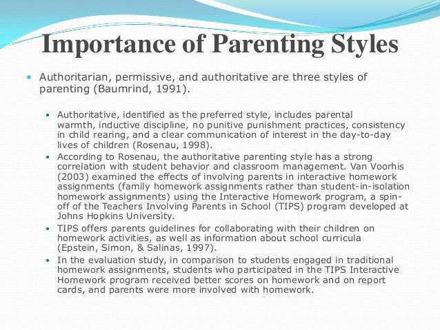 "in defense of permissive parenting essay How permissive are your parents by ""perhaps the most talked-about story in parenting circles this week is amy chua's essay in the wall."