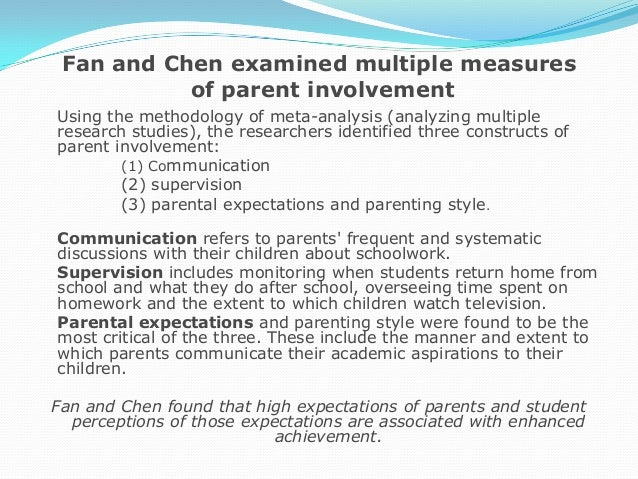 role of parents in childrens development