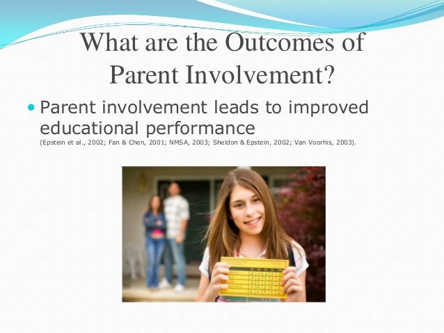 the importance of parental involvement in Parental involvement makes a difference in early childhood education a dissertation  specific ways which would ensure that more parents realise the importance and.
