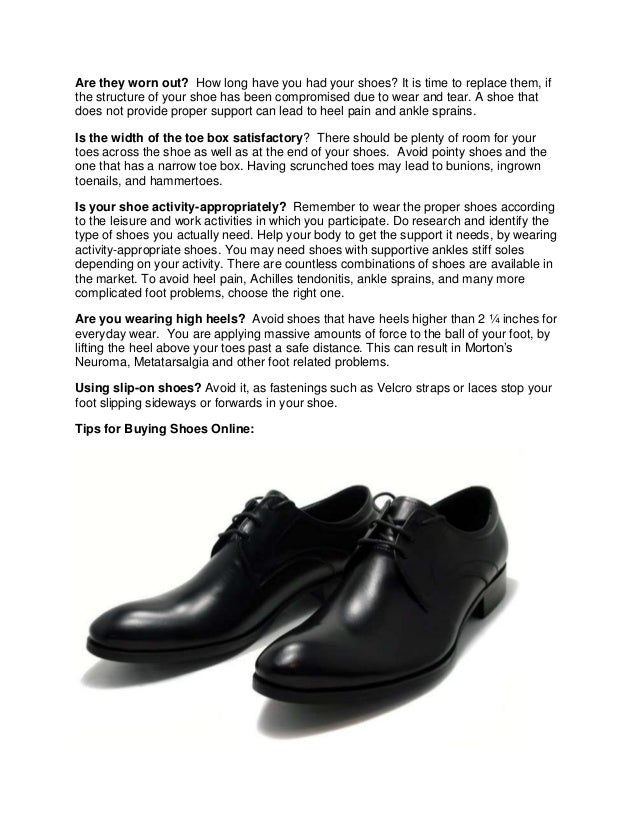 importance of shoes The building blocks for a versatile show closet is pretty simple and basic and if done right, you will have a shoe collection that will cover all of your life's main events.