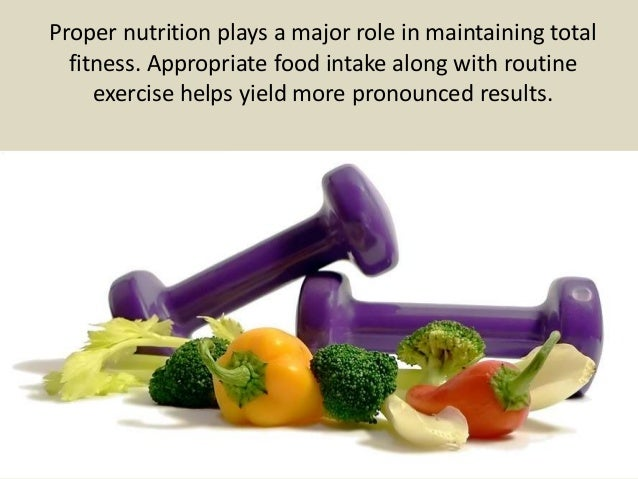 The Importance Of Proper Nutrition In Fitness Plans
