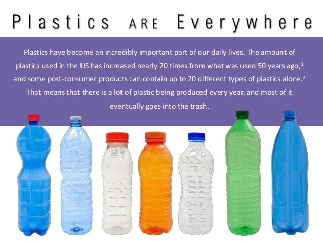 Importance of plastic in daily life