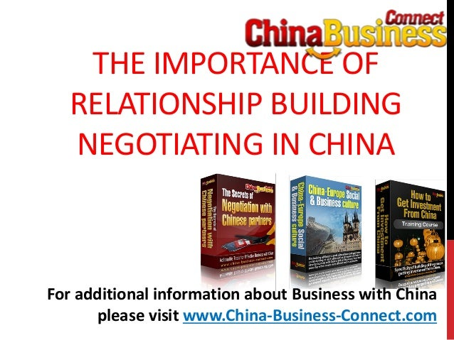 china africa business relationship building