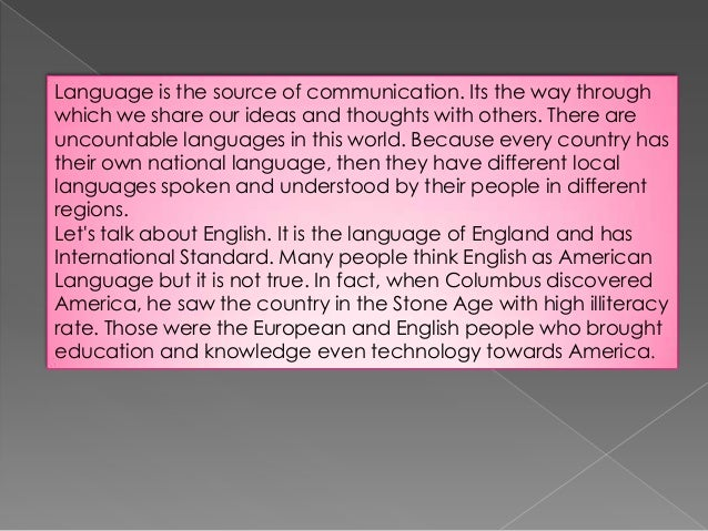 essay of english education