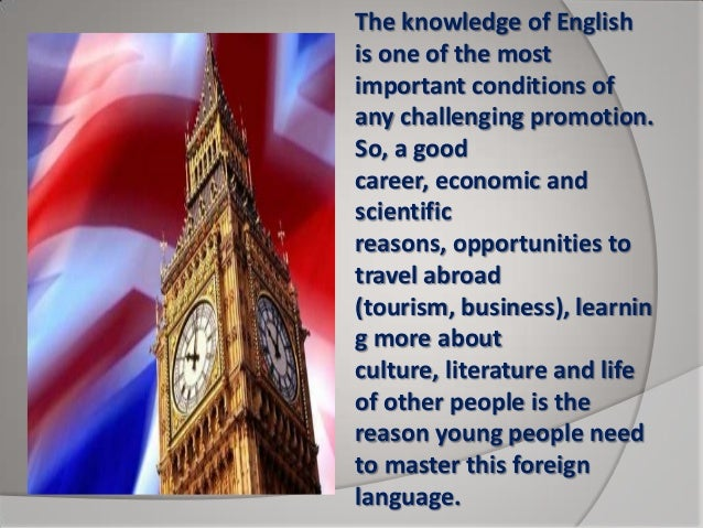 defination of importance of english language When investigating or reporting on english-language learners, it is important to  determine precisely how the term, or a related term, is being.