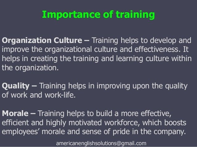the importance of employee motivation in an organization The research recommends that management should give importance to the employee motivation to survive amongst its competitors muogbo (2013) presented the problem that how employee motivation has an impact on organizational.