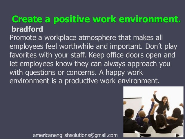 motivation within a creative environment 8 tips to engage your employees motivation and engagement of a team within their company, they invest more time and.