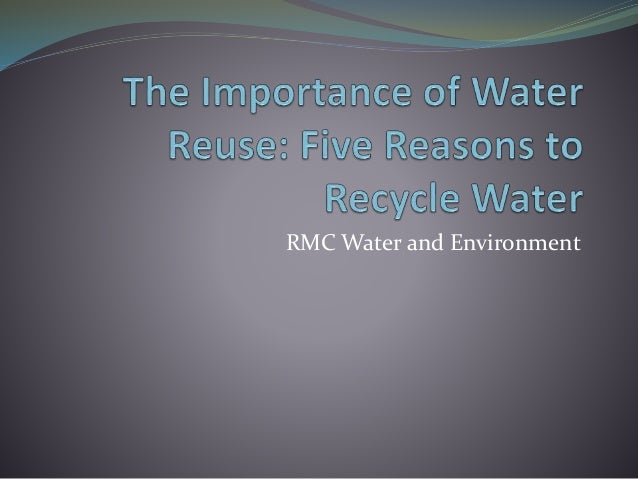 RMC Water and Environment