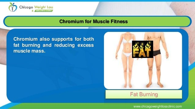 chromium injection for weight loss