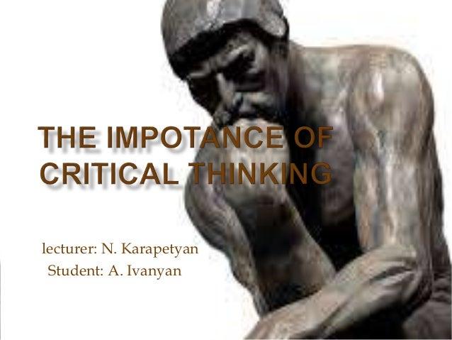lecturer: N. Karapetyan Student: A. Ivanyan
