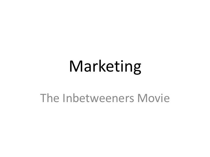 MarketingThe Inbetweeners Movie