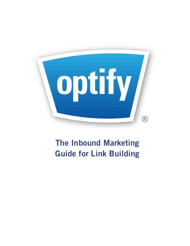 ®The Inbound MarketingGuide for Link Building