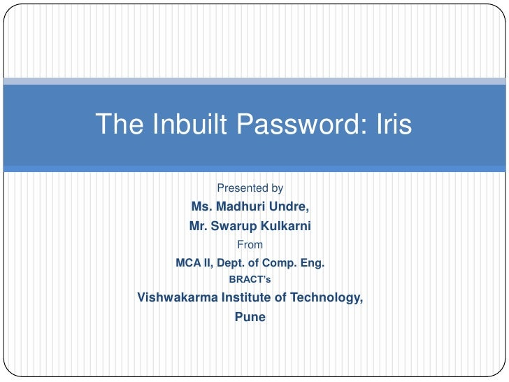 Presented by<br />Ms. Madhuri Undre, <br />Mr. Swarup Kulkarni<br />From<br />MCA II, Dept. of Comp. Eng.<br />BRACT's<br ...