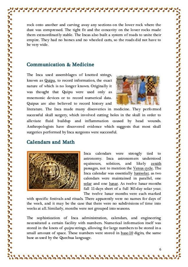 inca achievements in medicine - photo #17