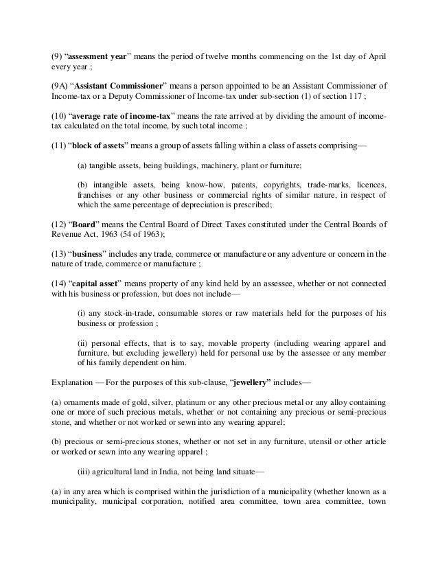 income tax act 1961 pdf
