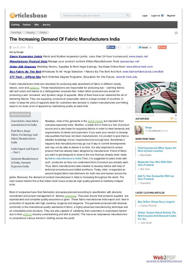 Findmore articles, type your search... Login Login via Register HomePage Shopping Clothing Apr 03, 2014 0 0 TweetTweet 0 R...