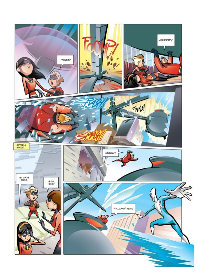 The Incredibles Comic Book