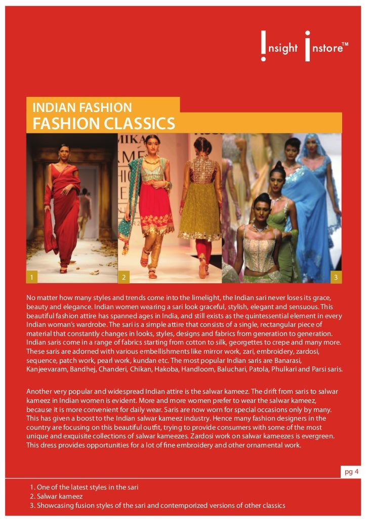 The Indian Fashion Scenario Triggers Targets Trends Tips Preview