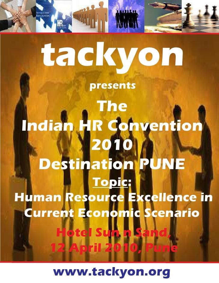 tackyon           presents           The Indian HR Convention         2010   Destination PUNE            Topic: Human Reso...