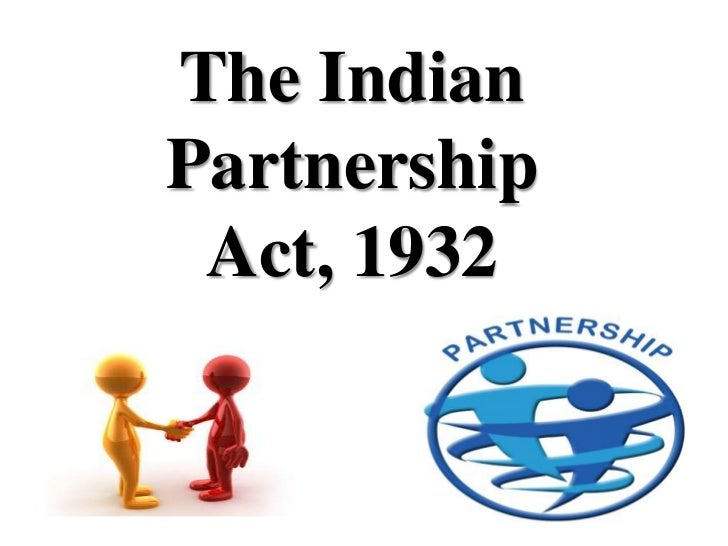 indian partnership act 1932 notes for cpt