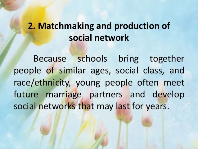 Of Social Networks And Production Matchmaking