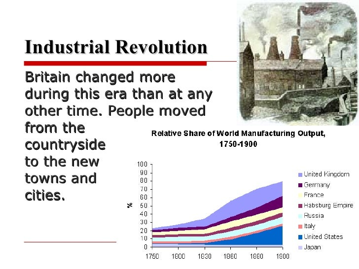 industrial revolution how did the industrial The industrial revolution was a time in the 18th century when many important inventions were made many of these inventions made work easier and cheaper as these.