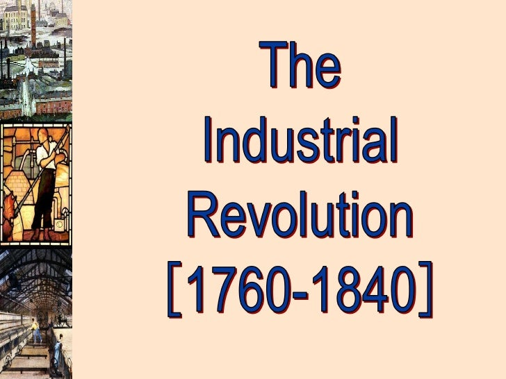 the industrial revolution presentation, Modern powerpoint