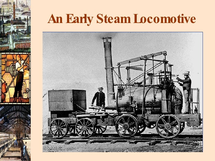An Early Steam Locomotive