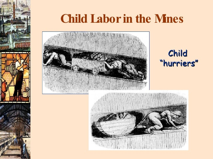 """Child Labor in the Mines Child  """"hurriers"""""""
