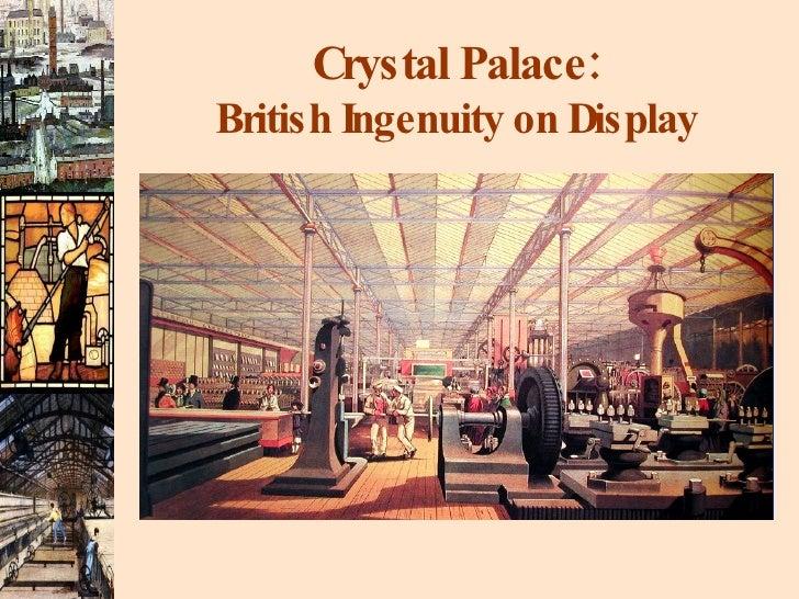 Crystal Palace: British Ingenuity on Display