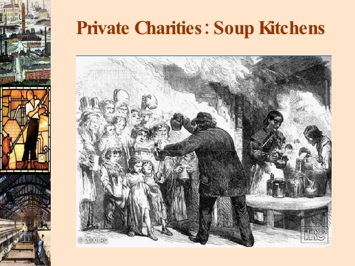 Private Charities: Soup Kitchens