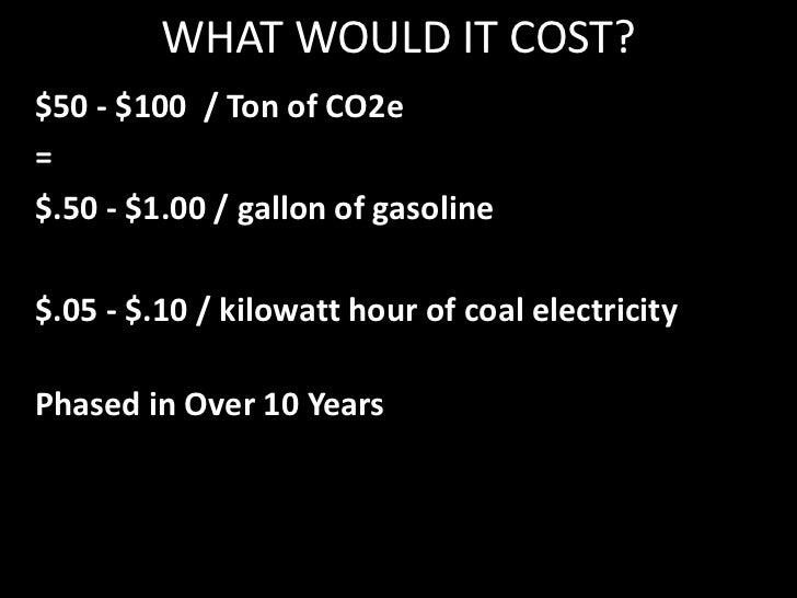 WHAT WOULD IT COST?<br />ENOUGH TO HIT A TIPPING POINT<br />Cheaper to Pull Carbon From the Air than the Ground<br />Cheap...